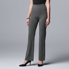 Simply Vera Vera Wang Live-In High Rise Bootcut Le