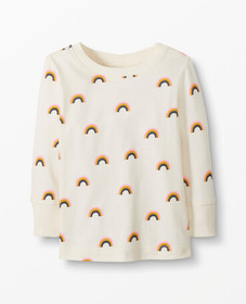 Hanna Andersson Sueded Jersey Tee