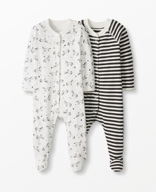 Hanna Andersson Footed Sleeper In Organic Cotton 2