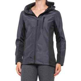 RBX Soft Shell Hooded Jacket (For Women) in Charco
