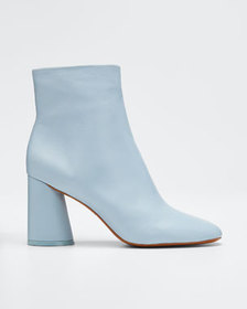 Mercedes Castillo Tomara Leather Zip Booties