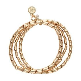 Dana Buchman™ Gold Tone Coil Bangle Stretch Bracel