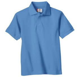 Dickies Boys School Uniform Short Sleeve Pique Pol