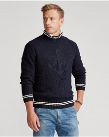 Ralph Lauren Hand-Embroidered Sweater
