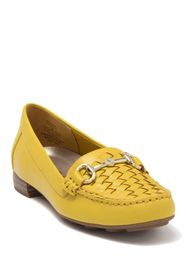 Anne Klein Hazina Basket Woven Leather Loafer