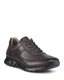 Kenneth Cole Men's Brayden Leather Jogger Sneakers