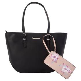 Nine West Society Girl Shopper Tote with Floral Po