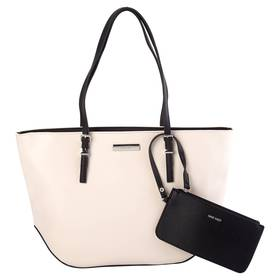 Nine West Society Girl Two-Tone Shopper Tote