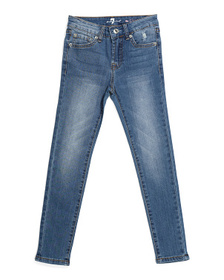 7 FOR ALL MANKIND Big Girls The Skinny Stretch Jea