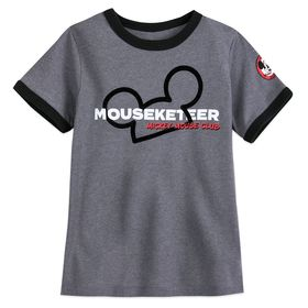 Disney The Mickey Mouse Club Mouseketeer Ringer T-