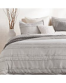 DKNY - PURE Fringe Stripe Duvet Cover Sets