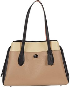 COACH Color-Block Leather Lora Carryall