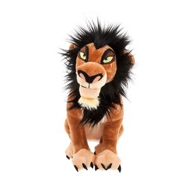Disney Scar Plush – The Lion King – Medium – 14''