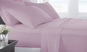 Microfiber Luxury Home Ultra Soft Sheet Set (6-Pie on sale at Groupon.com