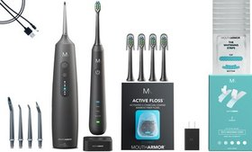 Mouth Armor Sonic Electric Toothbrush and Cordless