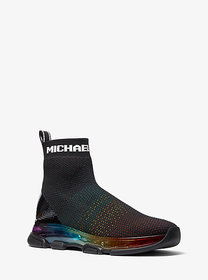 Michael Kors Kendra Rainbow Stretch Knit Sock Snea