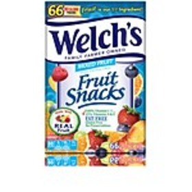 Welchs Mixed Fruit Snacks, 80 Calorie Pouches, Pac
