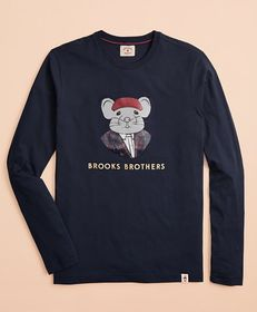 Brooks Brothers Year of the Rat Long-Sleeve T-Shir