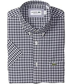 Lacoste Long Sleeve Popeline Button-Down Casual Sh