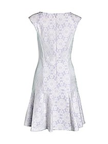 Nanette By Nanette Lepore Lace Cap-Sleeve Dress