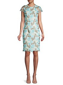 Calvin Klein Floral Lace Dress