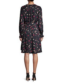 Joie Marlayne Belted Floral Dress