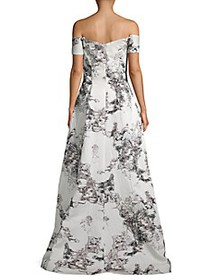 Rene Ruiz Collection Off-The-Shoulder Gown