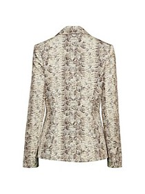 Bailey 44 Harrison Snake-Print Jacket