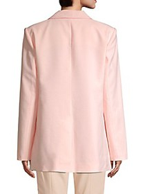 Tibi Oversized Notch Lapel Blazer