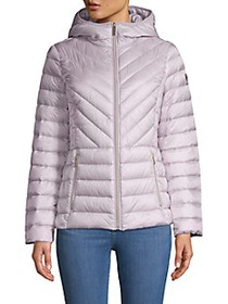 MICHAEL Michael Kors Missy Zip Packable Down Jacke