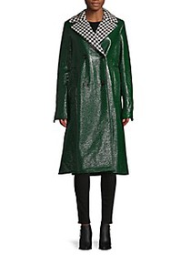 Marni Houndstooth Lapel Coat