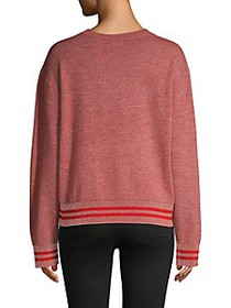 Rag & Bone Reflective Wool-Blend Pullover Sweater