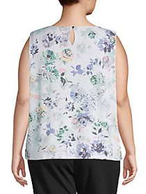 Calvin Klein Plus ​Floral Sleeveless Top