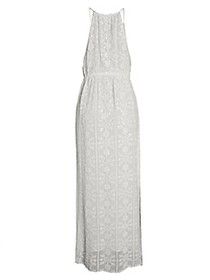 Tessora Gia Tonal Print Maxi Dress