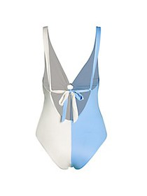 Tori Praver Swim Maxime Capri One-Piece Swimsuit