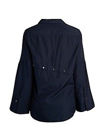3.1 Phillip Lim Long-Sleeve Button-Down Top
