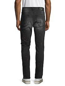 RON TOMSON Distressed Slim-Fit Jeans