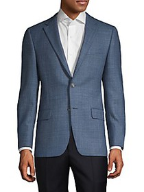 Hickey Freeman Milburn II Standard-Fit Wool Sportc