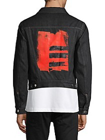 Helmut Lang Graphic Denim Jacket