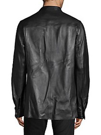 Diesel Black Gold Lariete Leather Jacket