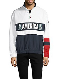 Perry Ellis ​America Graphic Colorblock Jacket