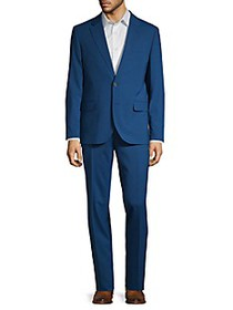 Karl Lagerfeld Regular-Fit Wool Blend Suit