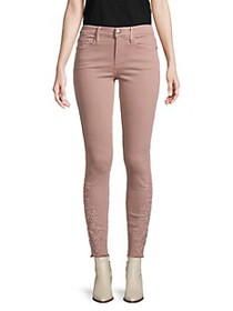 Frame Le Skinny Ankle Cropped Jeans