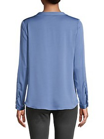 Milly Tessa Silk Blend Blouse