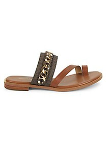 MICHAEL Michael Kors Bergen Chain Detail Sandals