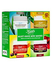 Kiehl's Since 1851 Must-Have Mini-Masks 4-Piece Se