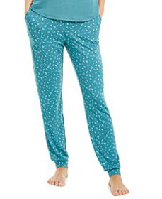 Ultra-Soft Knit Jogger Pajama Pants, Created for M