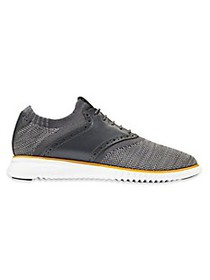 Cole Haan 2.ZeroGrand Packable Saddle Knit Oxfords