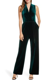 Vince Camuto SLEEVELESS VELVET WITH TASSEL