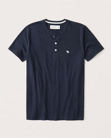 Icon Henley, NAVY BLUE